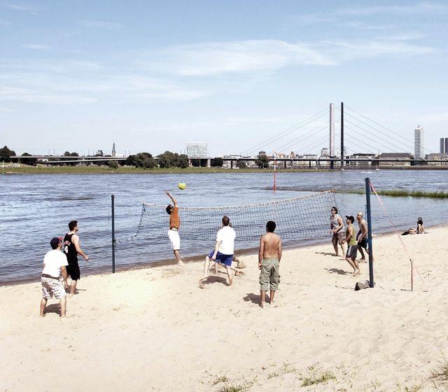 Beachvollesball_Düsseldorf