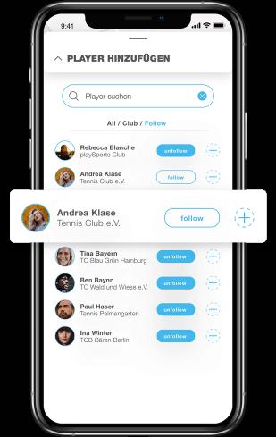 Cummunity in der PLAYSPORTS App
